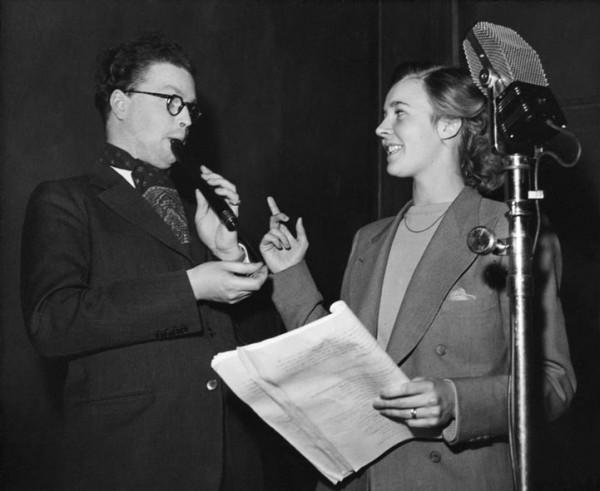 Povel och Alice Babs